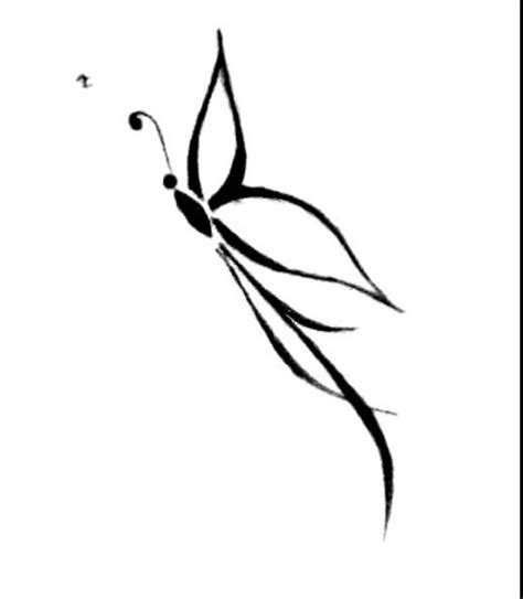 side butterfly tattoo designs drawing ideas butterfly drawing ideas