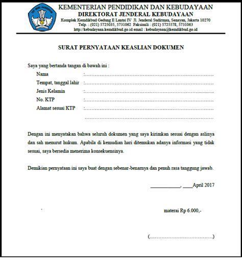 format surat keterangan jejaka contoh surat pernyataan keaslian dokumen list kerja