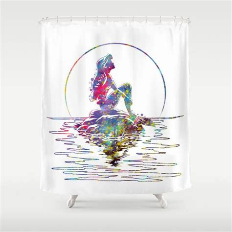 ariel shower curtain best 25 little mermaid bathroom ideas on pinterest