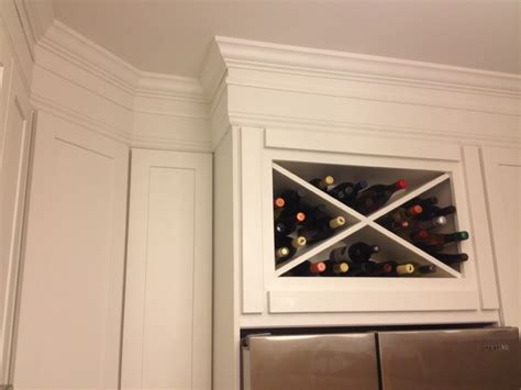 Crown Moulding Above Kitchen Cabinets White Kitchen Cabinets Shaker Cabinets Cliqstudios Contemporary Kitchen Minneapolis