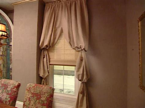 bishop sleeve curtains bishop s sleeve window treatment hgtv
