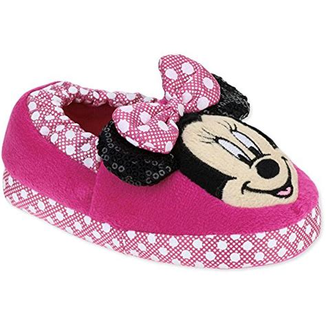 minnie mouse slippers disney mickey mouse toddler pink minnie mouse loafer