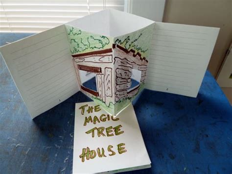 Magic Tree House Book Report Template Bookmaking With 187 Social Studies