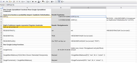 Spreadsheets Functions by Spreadsheet Functions Spreadsheets