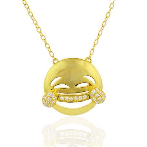 emoji jewelry emoji necklace emoji pendant emoji jewelry face with tears