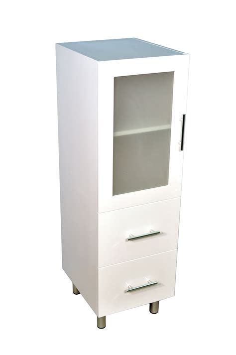 bathroom cabinets tall boy new 1200 tall boy bathroom cabinet with two drawers ebay