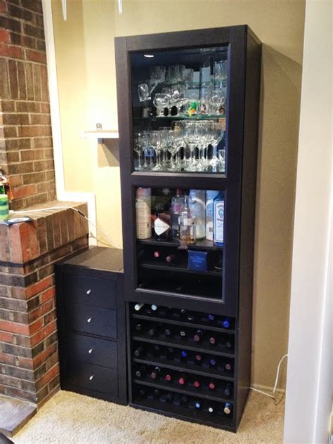 wine and liquor cabinets besta wine rack and liquor cabinet ikea hackers