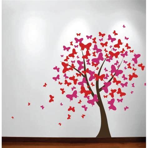 Disney Fairies Wall Mural adesivo de parede 193 rvore borboletas