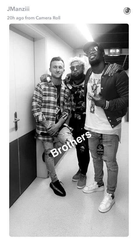 Backstage Miller 2 by Manziel Hangs With Beckham Miller Backstage At Show