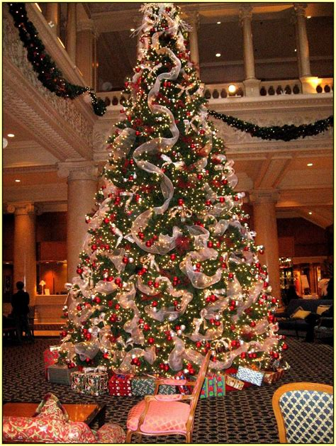 xmas trees decorated home design ideas