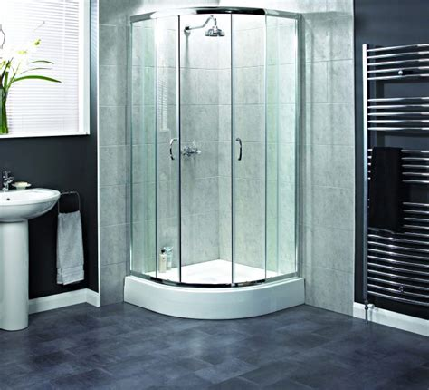 Aqualux Shower Doors Aqualux Shine Quadrant Shower Enclosure 900 X 900mm Polished Silver 1161215