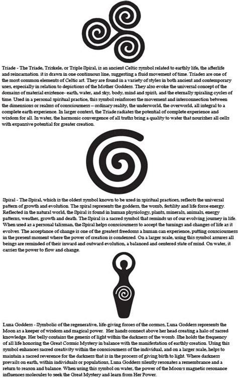 wicca symbols spiral the meaning x pagan