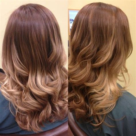 coloring over ombre hair ombr 233 color melting balayage hair color blonde
