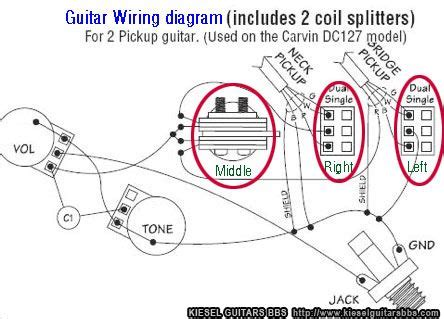 carvin stereo guitar wiring diagram 35 wiring diagram