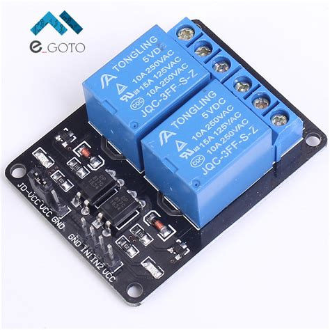 integrated circuit arduino uno 5v 2 channel relay module for arduino uno r3 raspberry pi in integrated circuits from electronic