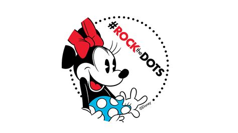 get ready to rockthedots for minnie mouse on national