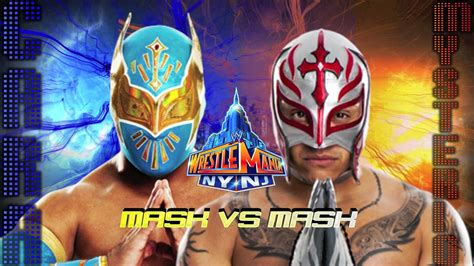 How To Make A Mysterio Mask Out Of Paper - wrestlemania 29 mask vs mask cara vs mysterio
