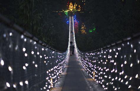 north vancouver canada capilano suspension bridge