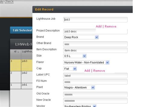 design form jquery jquery is it possible to create pop up in edit form of
