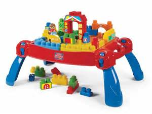Mega Bloks Table Mega Bloks Play N Go Table Toys Thehut Com
