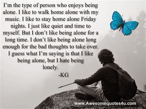 Embrace Being Alone Quotes