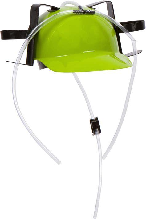 Hat Drinker And Soda Guzzler Helmet Olb2020 and soda guzzler helmet green toys