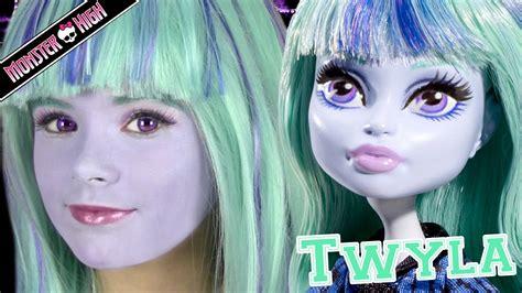 Disgust Halloween Costume Monster Twyla Doll Costume Makeup Tutorial