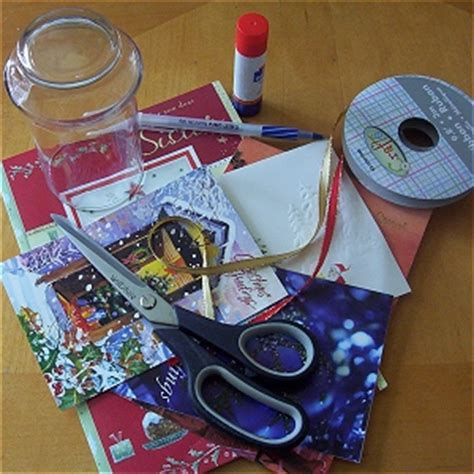 christmas card kits craft holliday decorations