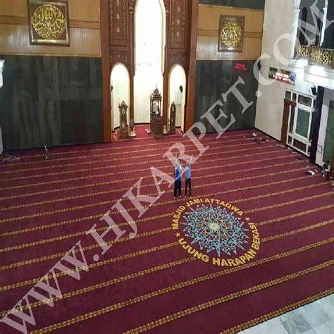 Karpet Masjid 39 babelan archives hjkarpet