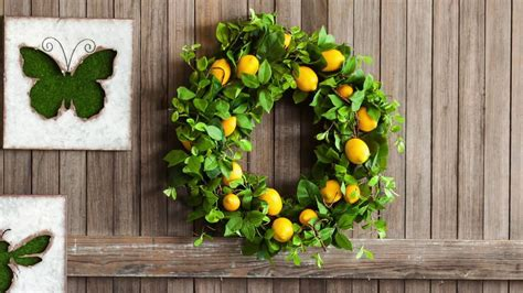 spring wreaths 2017 indoor outdoor wreaths for spring summer 2017 from new