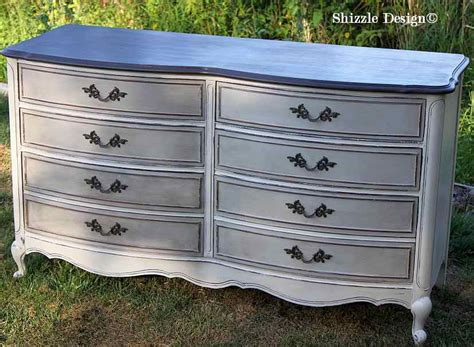Dresser Painted by Painted Furniture Curvy Dressers American Paint Company