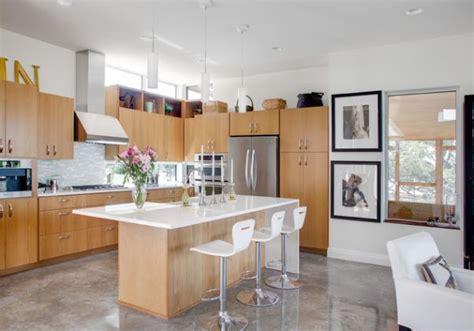 concrete kitchen floor fabulous floors