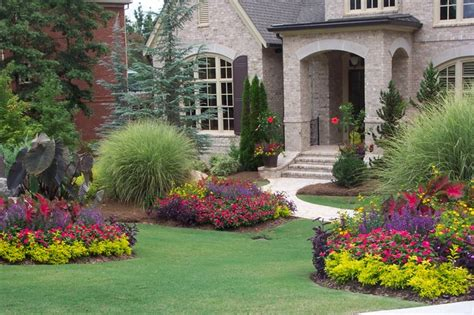 front yard flower garden ideas flower gardens in the south landscape atlanta by