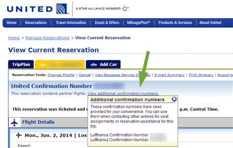 find passengers name of a ticket from pnr number record locator pnr of star partners on ua purchased