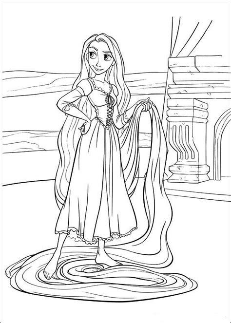 coloring pages barbie rapunzel rapunzel para colorear coloring pages
