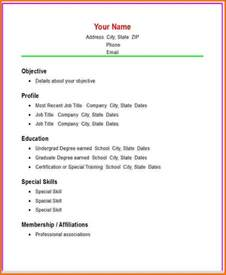 Resume Different Words Basic Resume Template Word Health Symptoms And Cure
