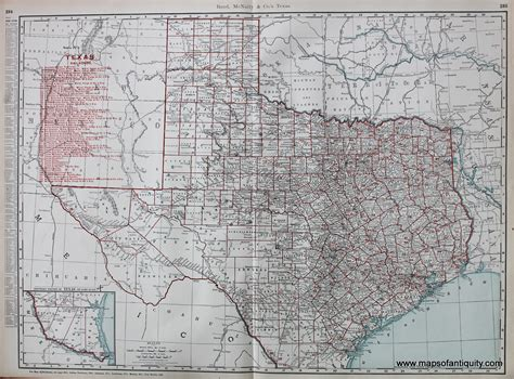 texas railroad maps texas railroads sold antique maps and charts original vintage historical