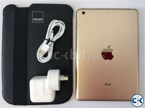 Mini 3 Gold 64gb apple mini 3 64gb wi fi 4g 7 9in gold clickbd