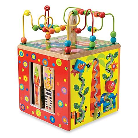 bed bath and beyond toys alex 174 toys my busy world cube bed bath beyond