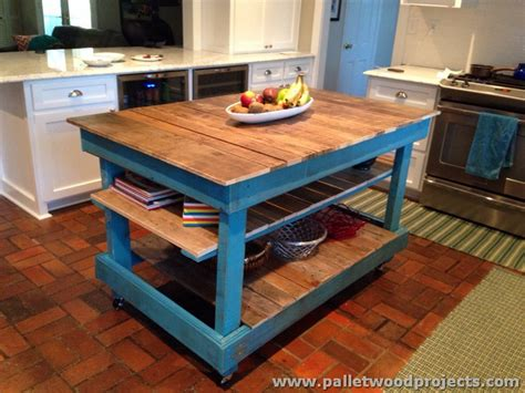island tables for kitchen pallet kitchen islands buffet tables pallet wood projects