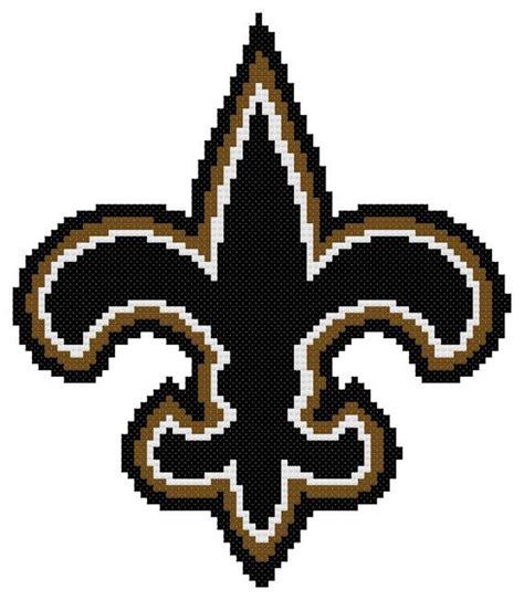 crochet pattern saints logo 17 best images about cross stitch college pro on