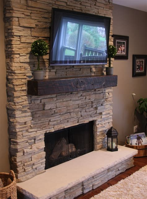 Reclaimed Fireplace by Reclaimed Wood Products Ohio Valley Reclaimed Wood