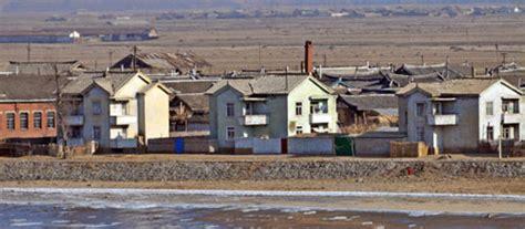 north korea houses along north korea s border heaven s family