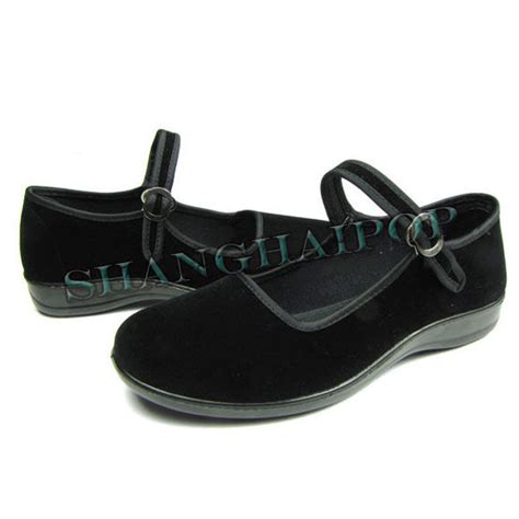 china flat shoes flat shoes black comfortable cotton china