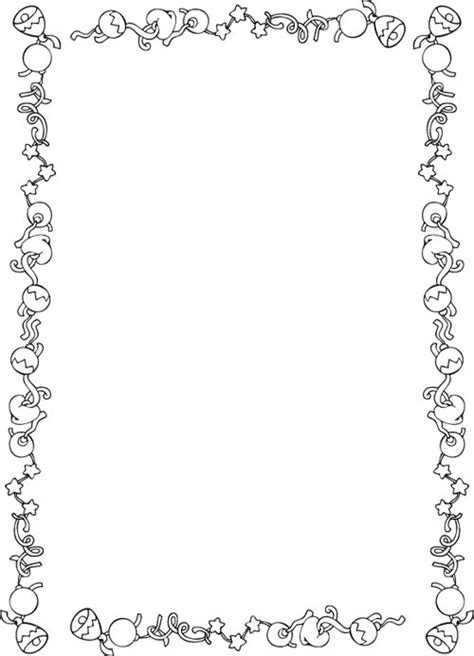 free coloring page borders free coloring pages of christmas borders