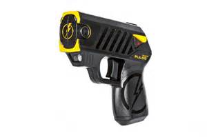 home defense weapons new self defense weapon taser pulse debuts at show
