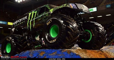 monster energy monster jam truck monster trucks team bhp