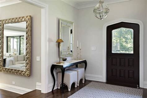 Living Room Facing Front Door 21 Feng Shui Mirror Placement And Tips For Your Home