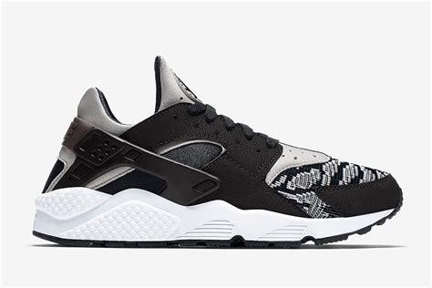 black and white pattern huaraches nike air huarache pa woven sneaker bar detroit