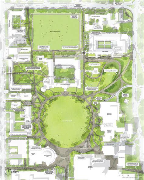 layout design of university designs for university of toronto st george cus